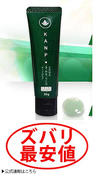 KANP歯磨きジェル 最安値3