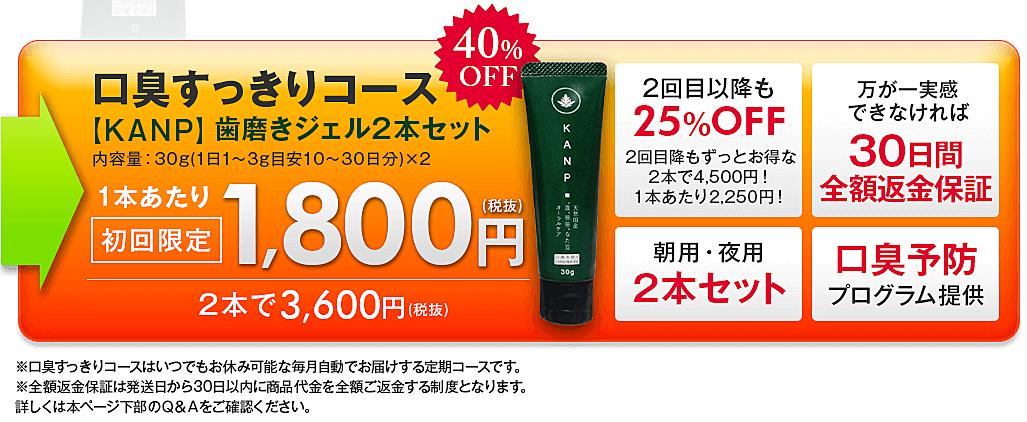 KANP歯磨きジェル 最安値1