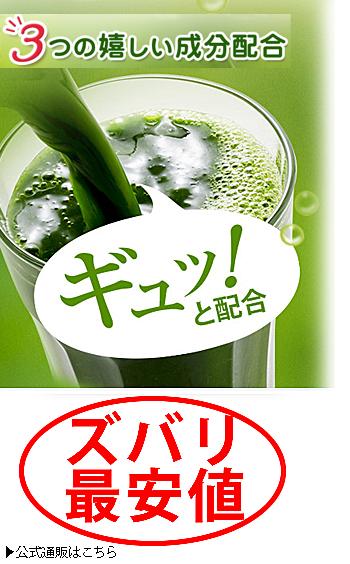 めっちゃたっぷり フルーツ青汁 最安値3